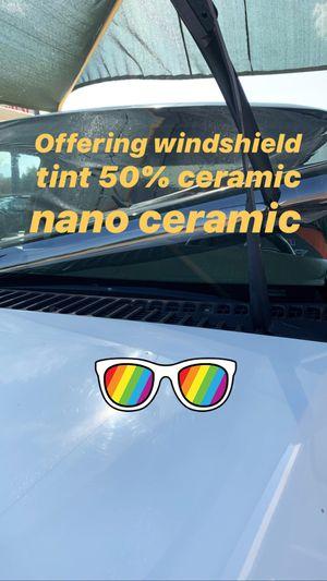 Tint film Nano ceramic 50% Vlt for Sale in Grand Prairie, TX