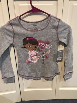 Brand new with tags Disney store Doc McStuffins long sleeve shirt for Sale in Farmington, CT