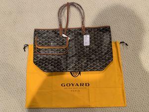 Goyard St. Louis Tote Bag PM Black/Tan for Sale in Berkeley, CA