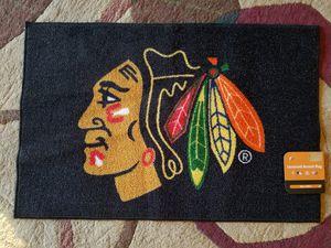Blackhawk Door Mat for Sale in West Chicago, IL