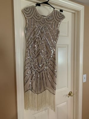 Gatsby fringe dress size XS for Sale in Rocky Hill, CT