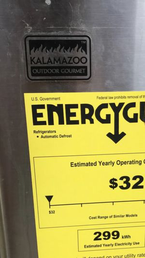 Kalamazoo Outdoor Gourmet Refrigerator for Sale in Traverse City, MI