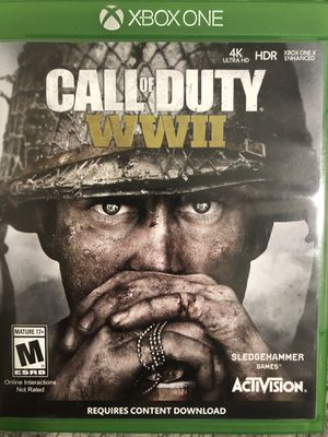 XBOX ONE CALL OF DUTY WW2/NBA2K19 for Sale in FL, US