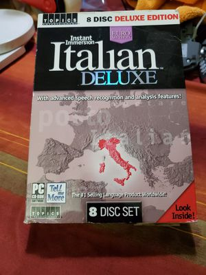 Instant Immersion Italian Deluxe for Sale in St. Louis, MO