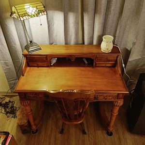 Antique Desk & Chair for Sale in San Diego, CA