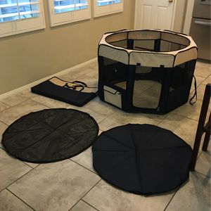 Precision Pet Play Pen - Soft/hard Top With Carry Case - $70 for Sale in Ladera Ranch, CA