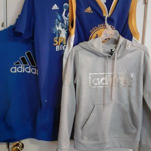 Youth Adidas Hoodies/Shirt/Jersy Lot, Golden State, Splash Brothers for Sale in Richmond, VA