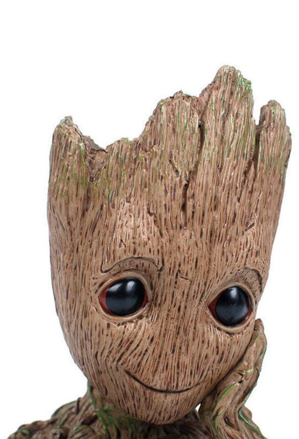 Groot Tree Man Flower Pot with Drainage Hole - Perfect Gift for anyone