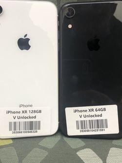 IPhone XR (64GB , 128GB , 256GB ) Factory Unlocked | 30 Days warranty for Sale in Zephyrhills,  FL