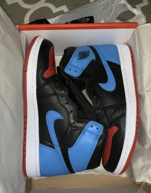 . Brand new air Jordan retro 1 high Unc to chi leather size 9 Women's (7.5M)men's.Price is firm for Sale in The Bronx, NY