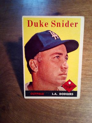 1958 Duke Snider Baseball Card for Sale in Peoria, IL