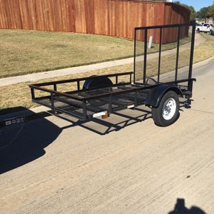 5 X 8 Utility Trailer With Drop Ramp for Sale in Grand Prairie, TX