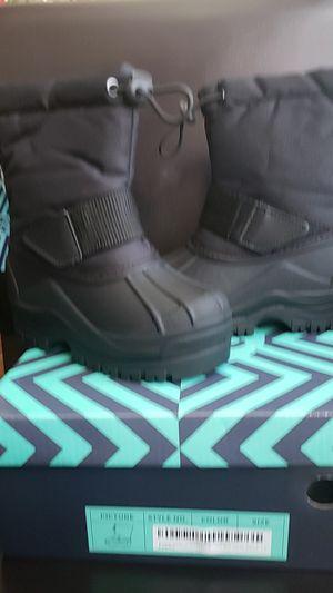 Little kids snow rain boots for Sale in Sylmar, CA