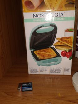 Mini Grilled Cheese Sandwiches Maker for Sale in Yakima,  WA