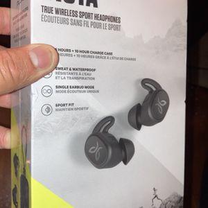 Vista True Wireless Sport Headphones (jay bird) Bluetooth Vista Headphones for Sale in Tulare, CA