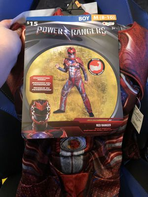 Red power ranger costume for Sale in Tarentum, PA
