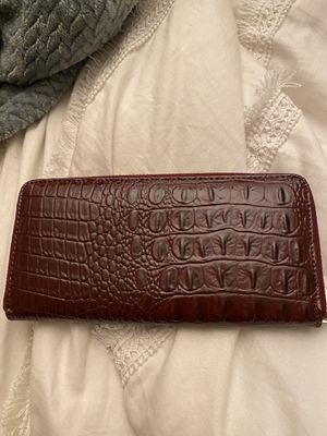 Anne Klein wallet red animal skin for Sale in Chula Vista, CA