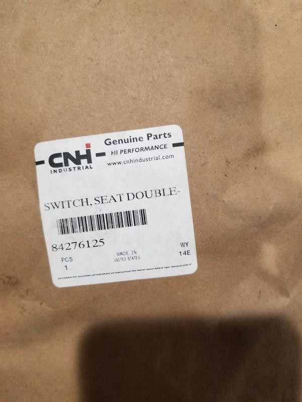 Case backhoe seat switch
