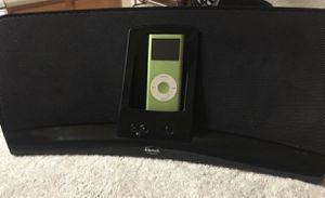 Klipsch iGroove HG 2-way Speaker System with Apple Cradle for Sale in Glendale, AZ