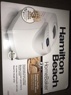 NEW Hamilton Beach 2 lb Digital Bread Maker Model #29881 for Sale in Houston, TX