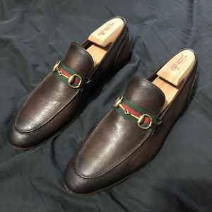 Gucci Jordaan Leather Loafer (10.5/11 US) for Sale in Ashburn, VA