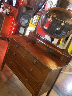 Antique Buffet /vanity for Sale in Fort Worth,  TX