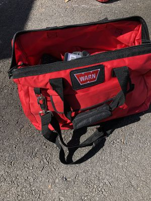 Warn winch recovery kit for Sale in Linden, NJ