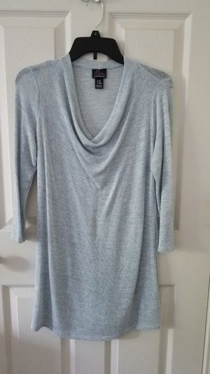 Maternity Light Blue Dress Top for Sale in Plainfield, IL