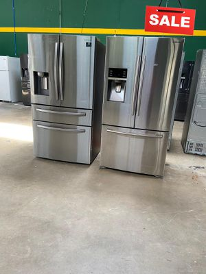 Samsung Refrigerator Fridge With Warranty AVAILABLE NOW! #1536 for Sale in San Antonio, TX