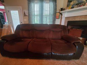 3 Seat Recliner Sofa Ashley's Furnitire for Sale in Bonaire, GA