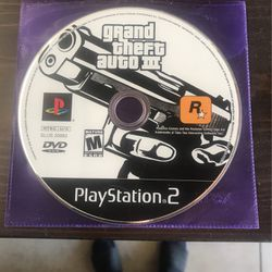 Grand Theft Auto 3 - PS2 for Sale in Menifee,  CA