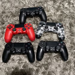 5 PS4 Controllers for Sale in Los Angeles,  CA