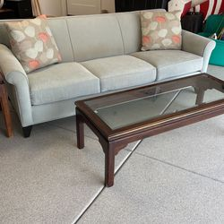Beautiful Expensive Sofa With Ethan Allen Coffee Table for Sale in San Diego,  CA