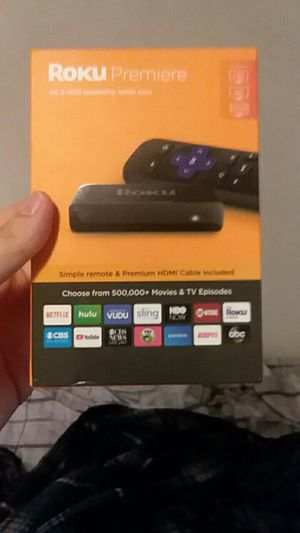 Roku premiere streaming device for Sale in Concord, VA