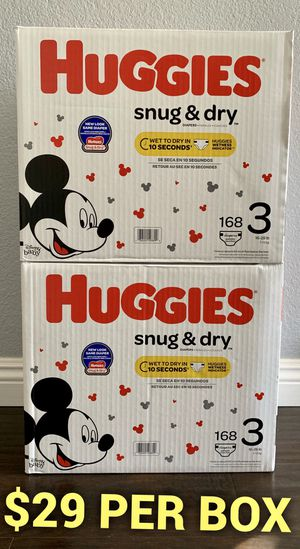 Huggies Diapers size 3 for Sale in Long Beach, CA