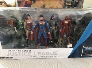 DC Collectibles Justice League New 52 Action Figure Pack 7 for Sale in Bremerton, WA