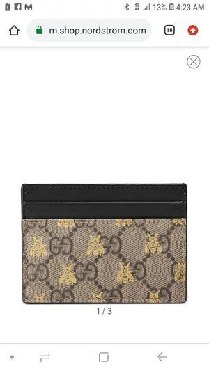 Selling my gucci card holder $80 for Sale in Miami, FL