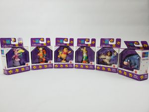 Set of Six Mattel Disney Winnie The Pooh Collectible Figurines NEW! for Sale in Trenton, NJ