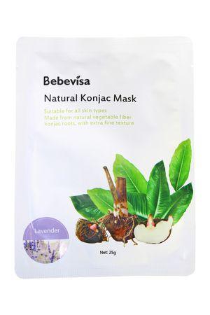 Bebevisa Vegan Konjac Whitening Sheet Face Mask Lavender Konjac (1 Sheet Mask) for Sale in San Marcos, CA