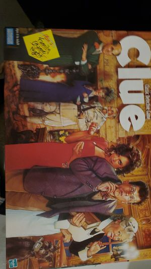 Clue board game for Sale in Solon, OH