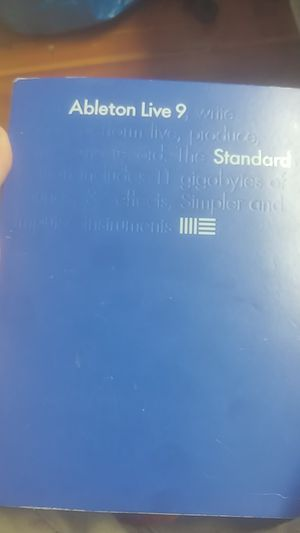 Ableton Live 9 Standard Edition for Sale in Bonita Springs, FL