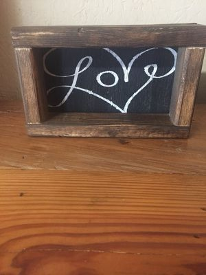Handmade wooden signs for Sale in Adrian, GA