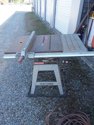 """Craftsman 10"""" table saw for Sale in Farris, OK"""