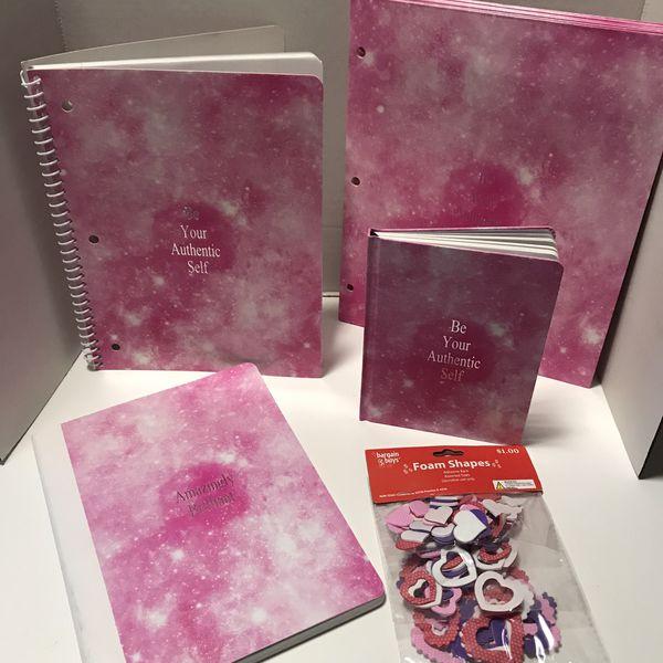 9 piece notebook set new