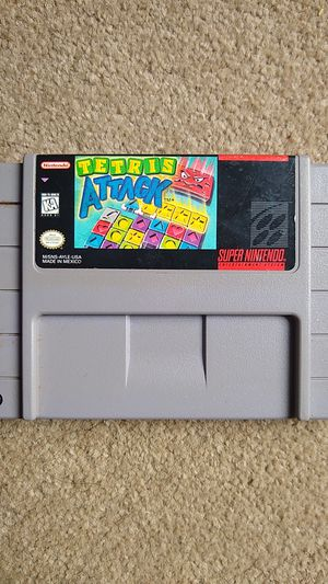 Tetris Attack Super Nintendo (SNES) Authentic for Sale in Lynnwood, WA