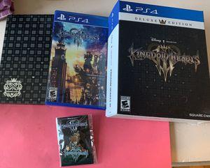Kingdom Hearts 3 Deluxe Edition for Sale in Providence, RI