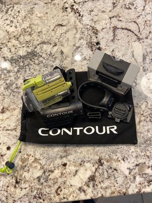 Contour Camcorder with accessories including waterproof case for Sale in Chandler, AZ