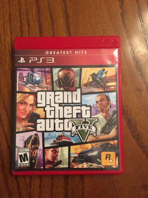 GTAV ps3 game for Sale in Crestview, FL