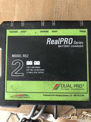 RealPro 2 bank charger for Sale in Burleson, TX