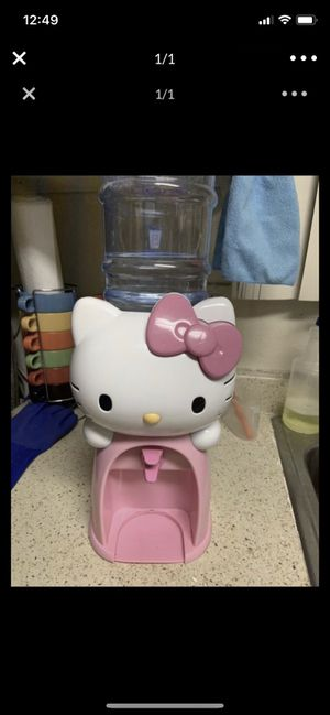 Clean hello kitty water machine 10.00 for Sale in Anaheim, CA
